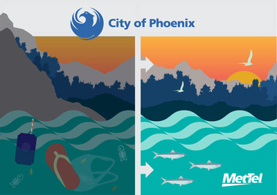 Using MetTel's IoT Fleet Management technology, the City of Phoenix is enabling its Public Works and Water departments to deliver more efficient, cost-effective and safer water resources and waste services to residents and facilities to help meet the city's goal of zero waste by 2050.