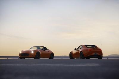 Édition du 30e anniversaire de la Mazda MX-5 (modèle destiné au marché nord-américain) (Groupe CNW/Mazda Canada Inc.)