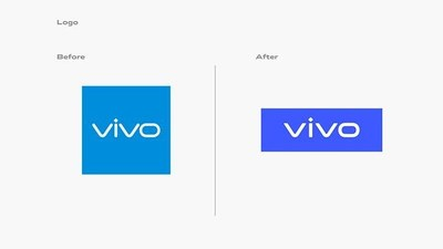 The Vivo logo is revamped to reflect the energetic and futuristic brand character