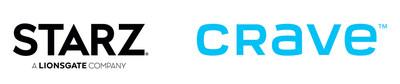 STARZ CRAVE logo (CNW Group/STARZ)
