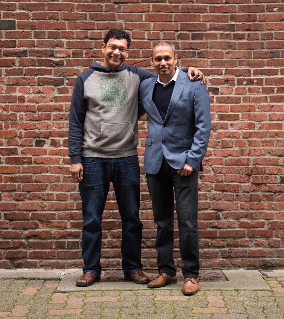 KenSci Co-Founders - Left; Ankur Teredesai, CTO and Right; Samir Manjure, CEO