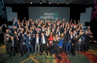 MOMENT OF GLORY: The winners, judges, and presenters of the 2019 SPIE Prism Awards