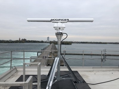 New Radar Technology Safety System Launched in Niagara River (CNW Group/Ontario Power Generation Inc.)