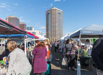 U-Haul International invites the public and neighboring Phoenix businesses to the monthly Midtown Farmers Market, now in its second year of offering a vibrant shopping setting while supporting Arizona's farmers and entrepreneurs.