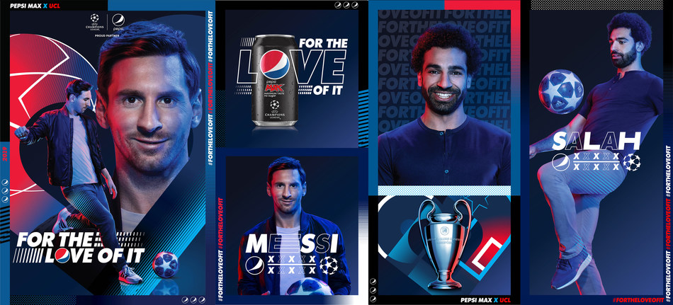 PEPSI, FOR THE LOVE OF IT