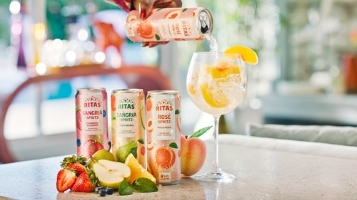RITAS Spritz is a new twist on wine cocktails that's fruity, fizzy and fun.