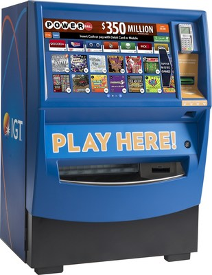 IGT's GameTouch™ 20 Wins Lottery Product of the Year at the International Gaming Awards