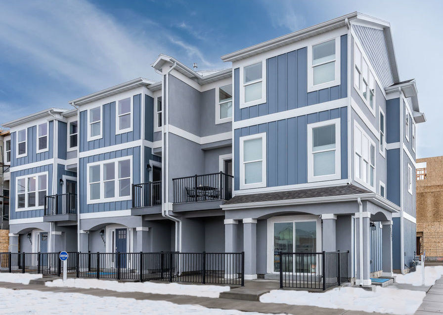 Muirhouse Townhome Community in Taylorsville, UT