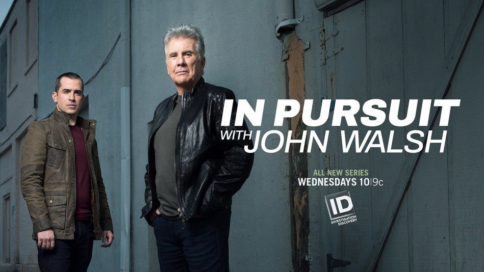 "John and Callahan Walsh from ""In Pursuit with John Walsh"""
