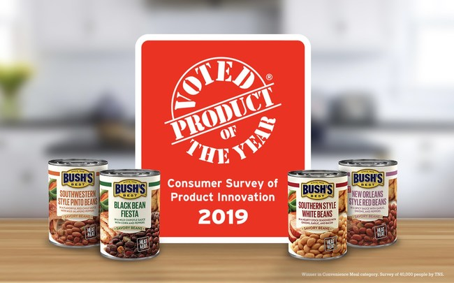 BUSH'S® Savory Beans Win Product of the Year