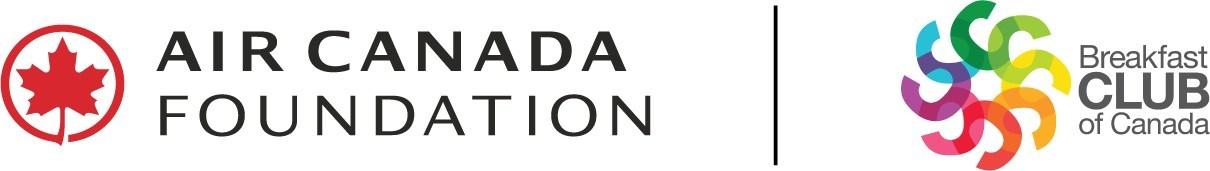 Logos: Air Canada Foundation | Breakfast Club of Canada (CNW Group/Breakfast Club of Canada)