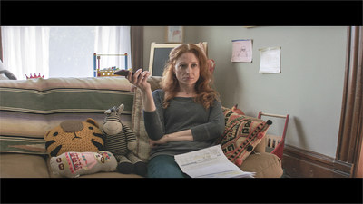 "A scene from the Ally ""Ratings"" campaign which launched February 11, 2019. Ally's new creative campaign aims to show the importance of ratings, with exaggerated scenes of what can happen if you don't read the reviews before purchasing a product or service."
