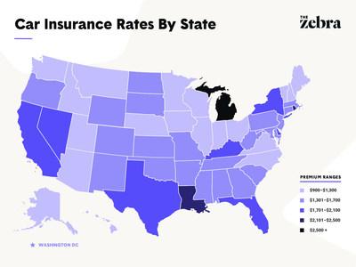 The Zebra's 2019 State of Auto Insurance