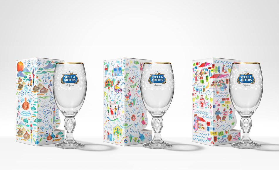 2019 limited-edition Stella Artois chalices, created in partnership with Water.org (CNW Group/Stella Artois)