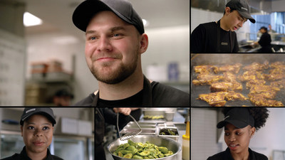 Chipotle Employees in the Behind The Foil campaign