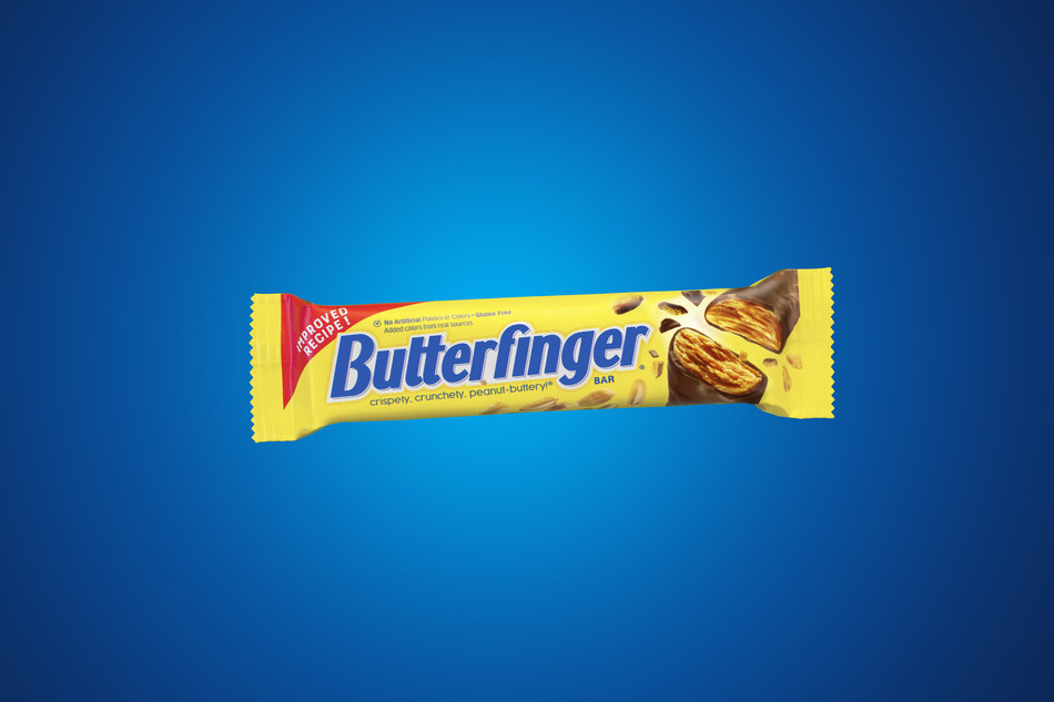 "The Butterfinger® brand today launched the national ""Better Butterfinger"" campaign, revealing a new TV spot, Butterfinger website and social creative across multiple digital platforms."