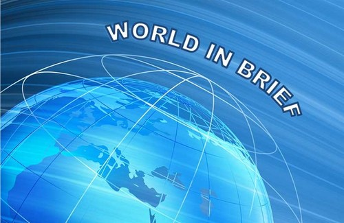 World in Brief, a daily conservative/libertarian mini news show produced and recorded by Ernest Dempsey at NewsBlaze and the popular website Word Matters.