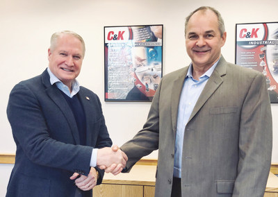 (From left to right) Scott Smith, C&K's new CRO, alongside CEO John Boucher.