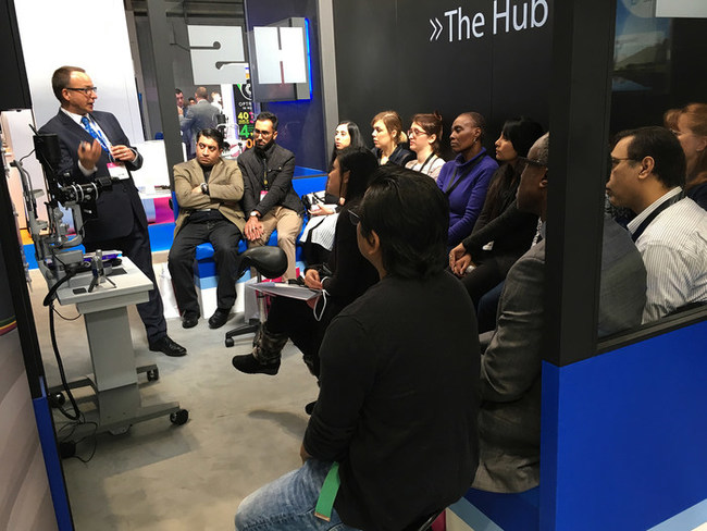 A successful HS-UK CET session at Optrafair 2018