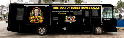 Dr. Seltzer's Traveling Medicine Show Launches at Daytona 500 featuring a full page Ad in the Official Preview and Press Guide. Dr. Seltzer plans on attending all 36 major races in the US to promote his new and vastly improved Hangover HelpeRx that is a 4 capsule dose intended to take before, during or after consuming alcohol.