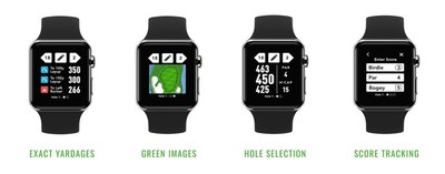 The new GolfLogix app for Series 3 and 4 Apple Watches allows golfers to conveniently access the game improvement features that have made GolfLogix the global leader in GPS and stat tracking technology.