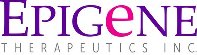 Logo: Epigene Therapeutics Inc. (CNW Group/Epigene Therapeutics Inc.)