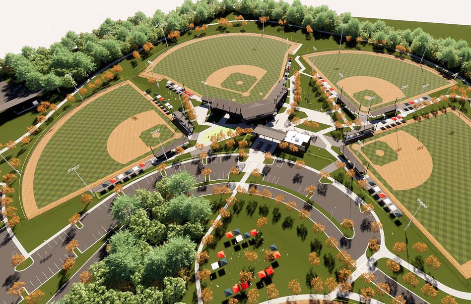 Sand Mountain Park Baseball View