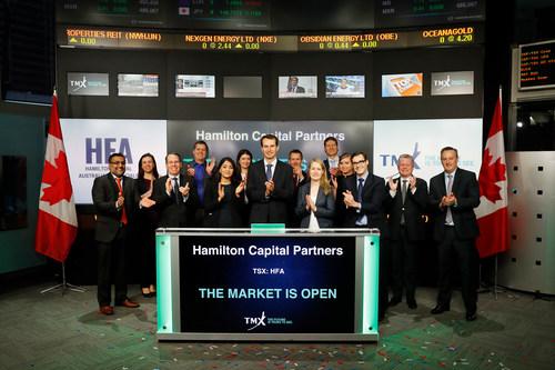 Hamilton Capital Partners Opens the Market (CNW Group/TMX Group Limited)