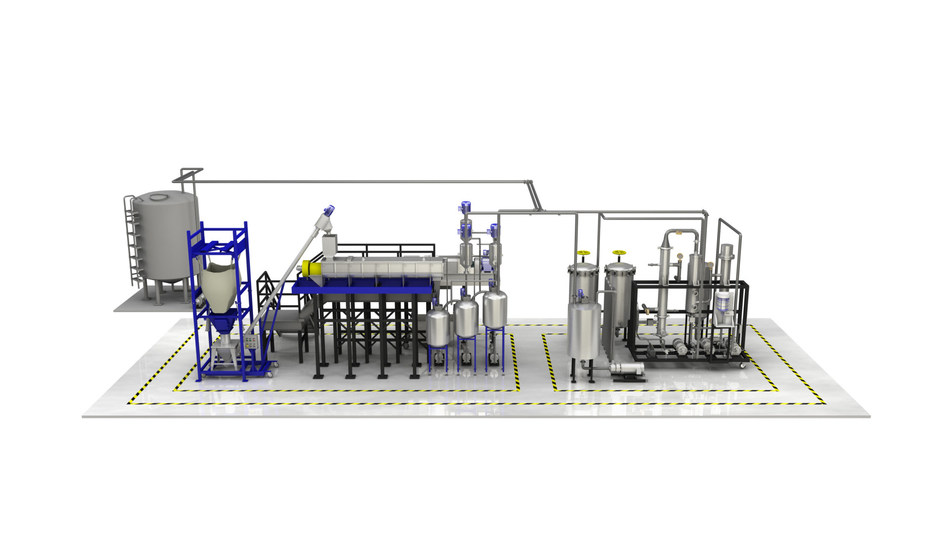 Precision KPD Series - Industrial Hemp Extraction Plant