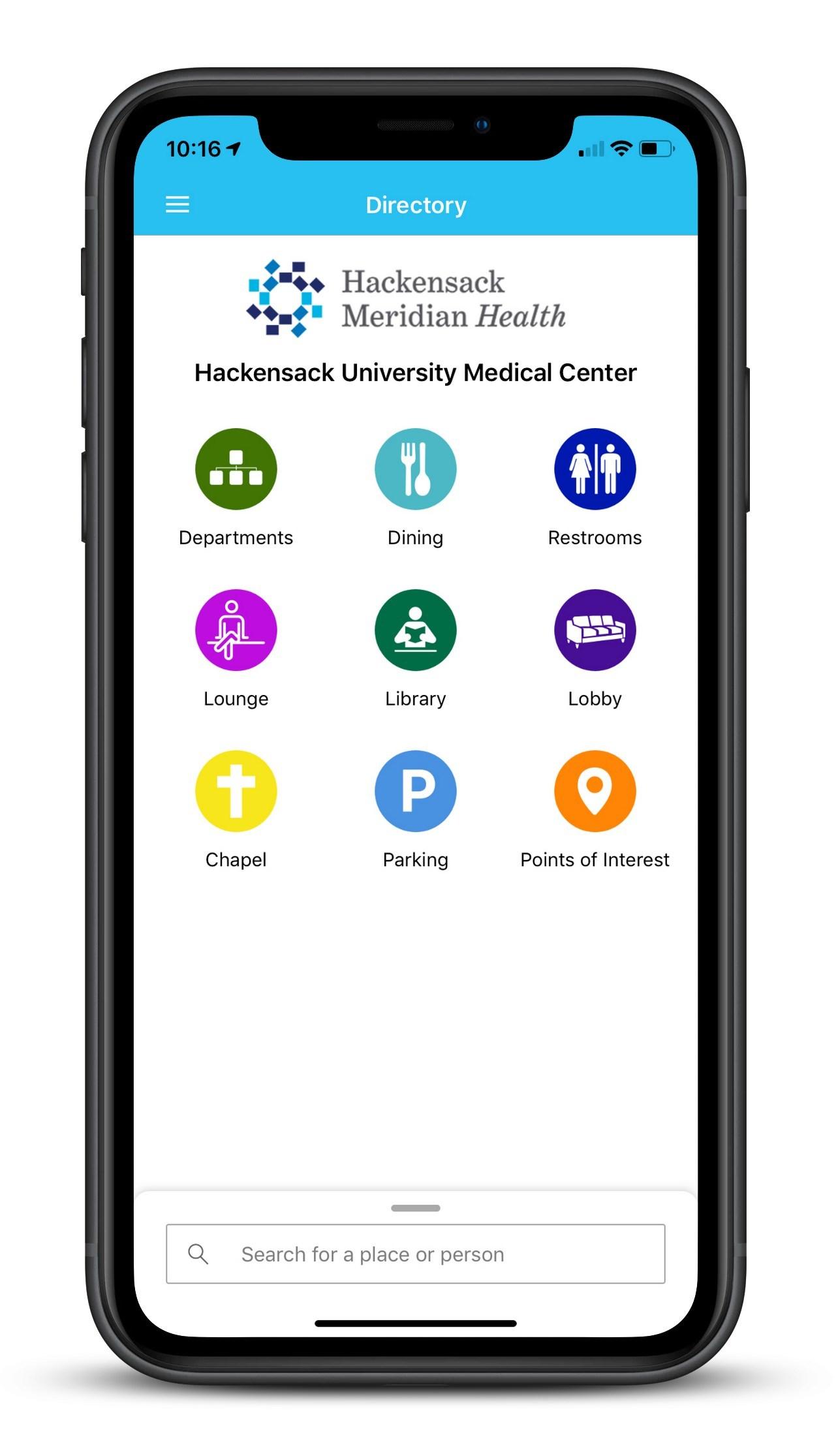 Connexient's MediNav App demonstrated at Hackensack University Medical Center