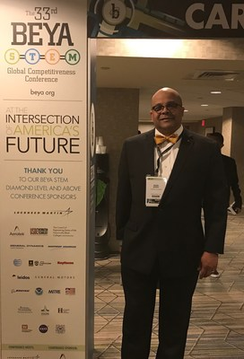 Dr. Mark Berry at the 2019 BEYA STEM Global Competitiveness Conference.