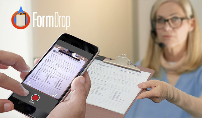 The FormDrop app allows patients to electronically fill out and submit forms to healthcare providers using their personal smartphones, with no need for clipboards, paper forms, or electronic tablets. Kalibrate Blockchain is offering exclusive licenses to embed the FormDrop SDK in hospital mobile apps.