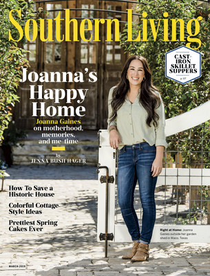 Joanna Gaines Featured in the March Issue of Southern Living