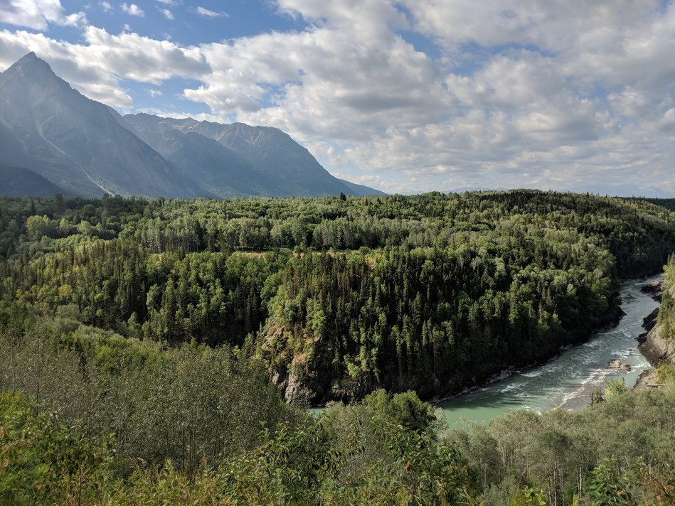 Bulkley River, near Hazelton, BC. (Photo: Noémi Pomerleau, Real Estate Foundation of BC) (CNW Group/Real Estate Foundation of BC)