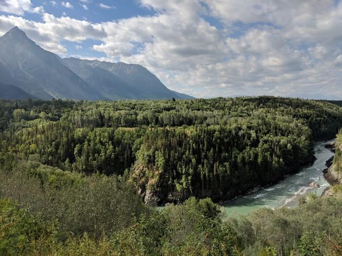 Bulkley River, near Hazelton, BC. (Photo: Noémi Pomerleau, Real Estate Foundation of BC) (CNW Group/Real Estate Foundation of BC)