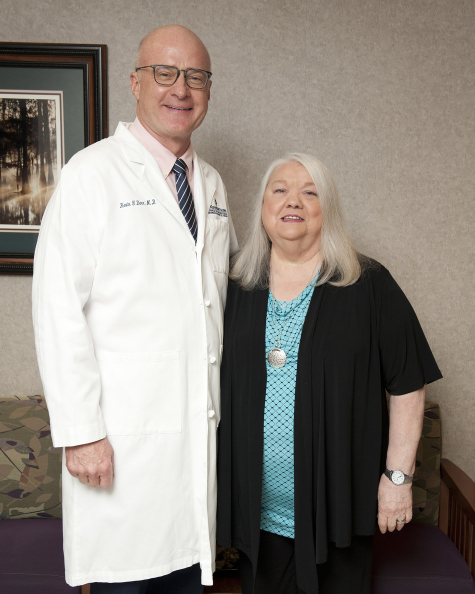 Kevin Darr, M.D. Board-Certified Orthopedic Surgeon | Patient, Judy | Covington Orthopedic Sports Medicine Institute