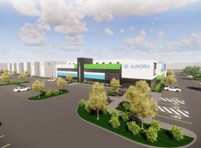 Artist Rendering: Aurora Polaris Facility (CNW Group/Aurora Cannabis Inc.)