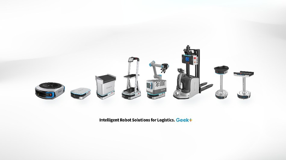 Geek+ Products Line (Picking, Moving & Sorting Robots)