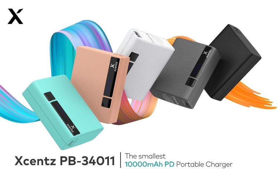 Xcentz PB-34011, The smallest 10000mAh PD portable charger