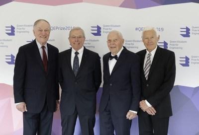 全球定位系统的四位创造者荣获伊丽莎白女王工程奖