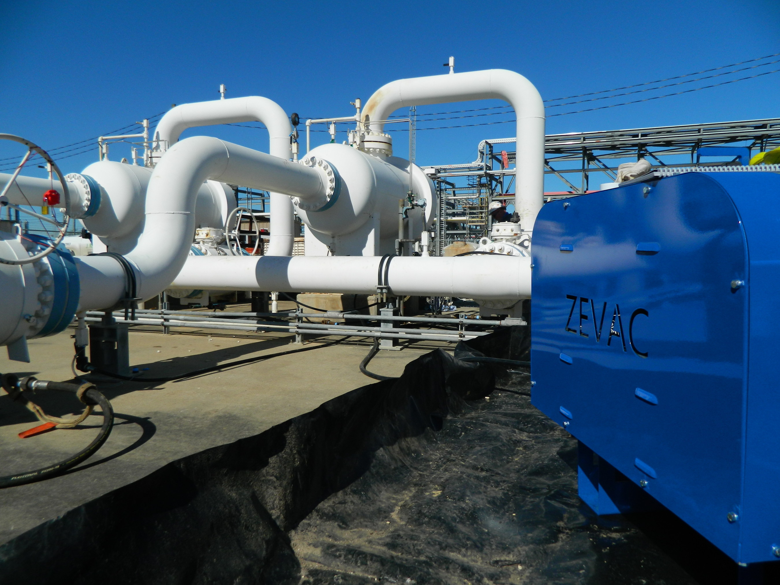Dominion Energy is using innovative technologies like ZEVAC® to capture, recycle and re-use methane in other parts of the system.