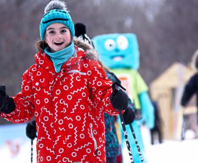 Le parcours comprend un plateau d'apprentissage qui facilite la familiarisation avec l'équipement et la glisse. (Groupe CNW/Société des établissements de plein air du Québec)