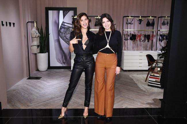 "Angel Sara Sampaio and Designer Lisa Chavy Introduce ""LIVY"" at Victoria's Secret"