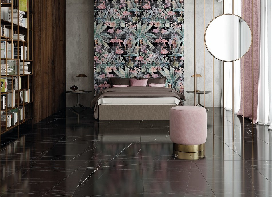 Black Flamingo Collection by Tile of Spain Company Bestile