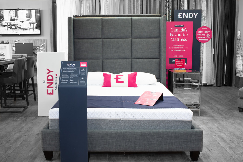 Today, Canadian mattress brand Endy launched showrooms in 37 participating Urban Barn locations across Canada. To find a location nearest you, visit endy.com/showrooms. (CNW Group/Endy)