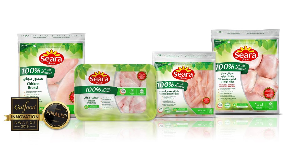 Seara 100% Natural – A complete new line of 100% Natural Chicken (PRNewsfoto/Seara)