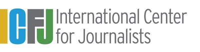 International Center for Journalists logo (PRNewsfoto/International Center for Journa)