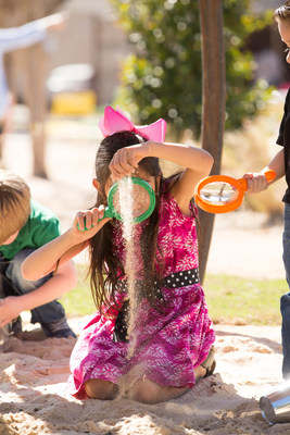 Los visitantes pueden disfrutar la Semana de la Arena en el Jardín Botánico de San Antonio, así como aventuras divertidas para la familia en toda la ciudad, este Receso de Primavera. (PRNewsfoto/Visit San Antonio)