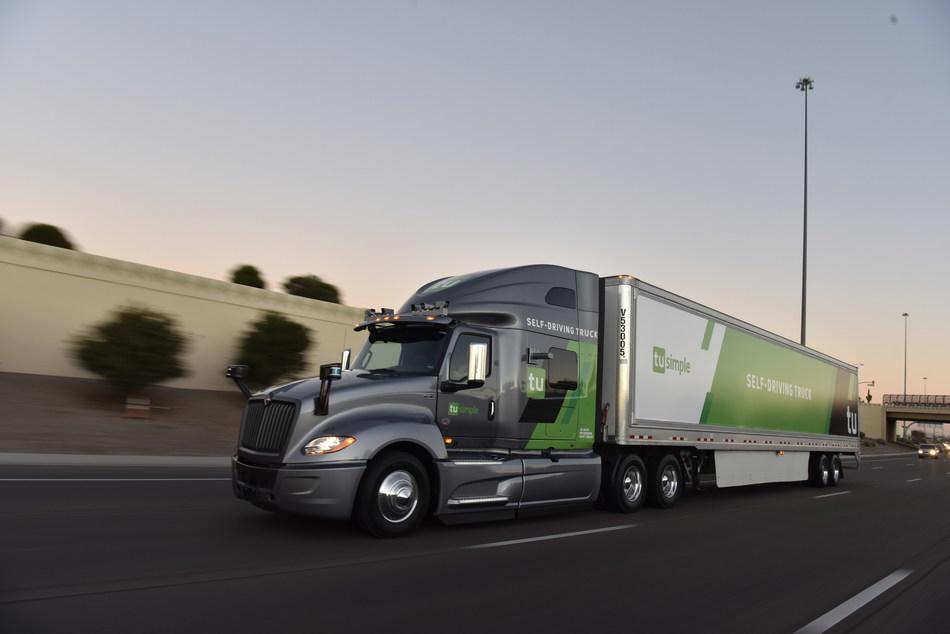 Autonomous Trucking Leader TuSimple Closes $95M Series D