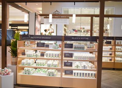 Seventh Sense CBD Shop at the Fayette Mall in Lexington, Kentucky (CNW Group/Green Growth Brands)